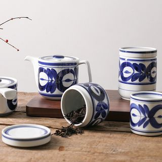 Choyce - Printed Ceramic Drinking Cup / Teapot