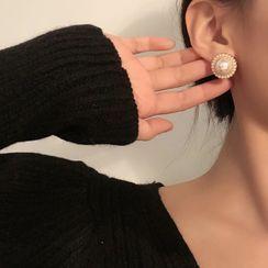 Jamfune - 复古珍珠耳环
