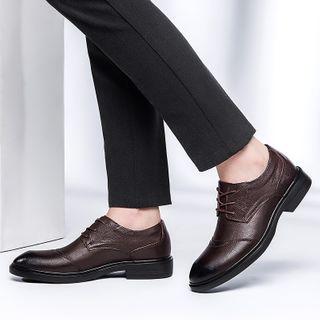 WeWolf - 真皮抓毛里衬系带鞋