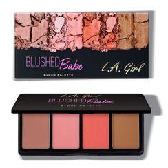 L.A. Girl Cosmetics - Fanatic Blush Palette - Blushed Babe
