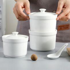 Popcorn - Ceramic Stew Pot / Spoon