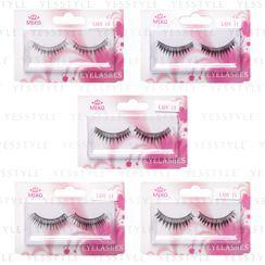 MEKO - Lady Hand-Woven Eyelashes 1 pair - 5 Types