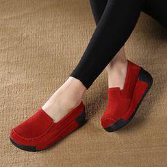 MINIKA - 厚底船跟樂福鞋