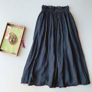 Vateddy - Midi A-Line Skirt