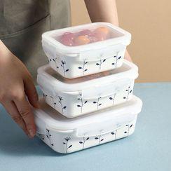 Home Simply - 碎花陶瓷食物容器