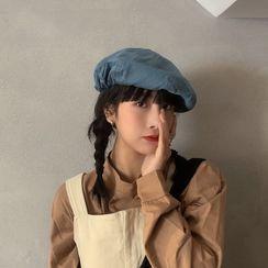 HATHOT - 純色貝雷帽