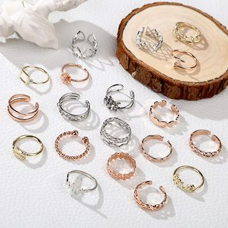 Recitbeau - Alloy Open Ring (various designs)
