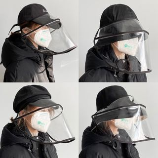 Jatte - Adjustable-Strap Face Shield / Hat (Various Designs)