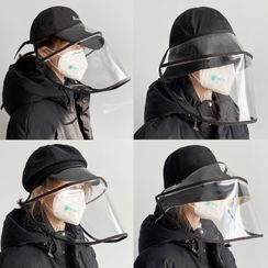 Jatte(ジャット) - Adjustable-Strap Face Shield / Hat (Various Designs)