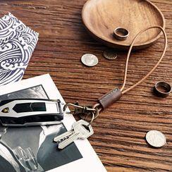 Wavecho - Genuine Leather  Key Ring