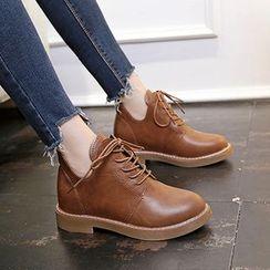 Aneka - Lace-Up Platform Shoes