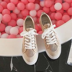 Ritto - Canvas Lace-Up Shoes