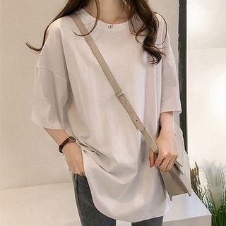 Chogen - Plain Short-Sleeve T-Shirt
