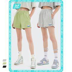 Newin - Reflective Drawstring Shorts