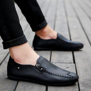 Viffara - Faux Leather Loafers