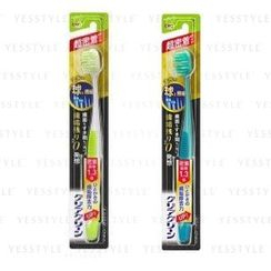 Kao - Clear Clean Ball Fine Adhesion Wide Toothbrush - 2 Types