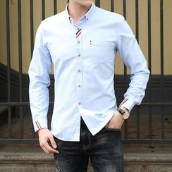 Fireon - 纯色衬衫
