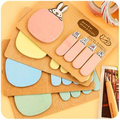 Cutie Bazaar - Animal Sticky Notes