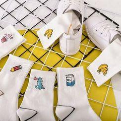 Guliga - 卡通中筒袜