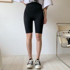 Envy Look - Seam-Front Biker Shorts