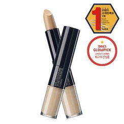 The Saem - Cover Perfection Ideal Concealer Duo (#01 Clear Beige)