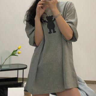 Bebop - Bear Print T-Shirt