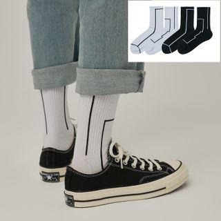 ASAIDA - 線印花襪子