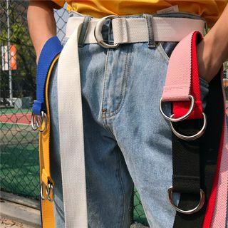 RONIN - Cinturón de tela con doble hebilla en D