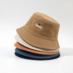 Hat Society - 字母刺繡漁夫帽