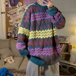 EOW - Zigzag Pattern Sweater
