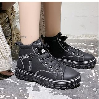 Satomi - 高帮系带休閒鞋