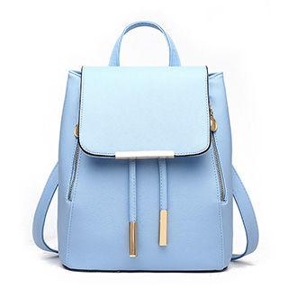 Santaka - Faux Leather Backpack