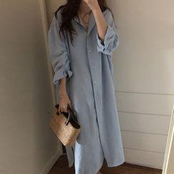 Fabrica - Maxi Linen Shirtdress