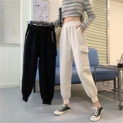 OUREA(アウレア) - Woolen Harem Pants