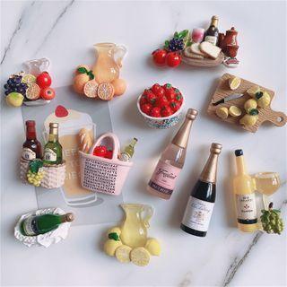 Oknana Home - 酒 / 水果冰箱磁铁