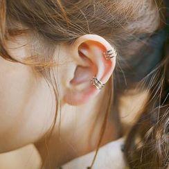 Jiniro - 925 Sterling Silver Cuff Earring