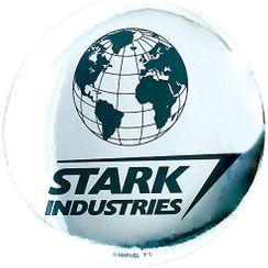 T'S Factory - MARVEL Portable Round Mirror (Stark Industries)