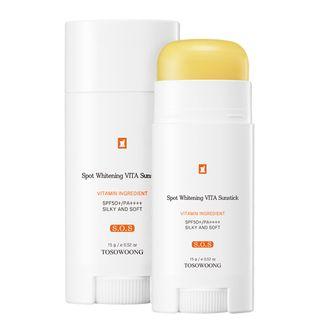 TOSOWOONG - SOS Spot Whitening Vita Clinic Vitamin Sun Stick SPF50+ PA+++ 15g