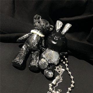 Malnia Home - Bear & Rabbit Keyring