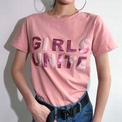 Genrovia - Lettering T-Shirt