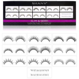 SHANY - Eyelash Extend: Set Of 10 Assorted Reusable Eyelashes