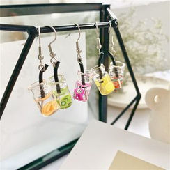 Madikara - Miniature Drinks Dangling Earrings