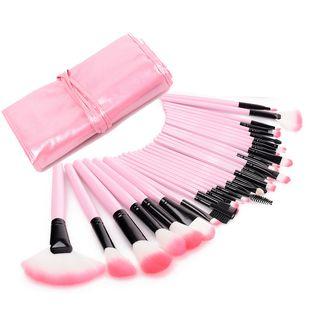 Brushup - Set of 32: Makeup Brushes + Bag