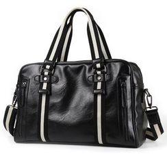 TESU - Faux Leather Carryall Bag
