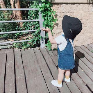 Cerula - 小童牛仔背带连衣裙