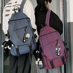 Bunny Hop - Buckled Plain Backpack