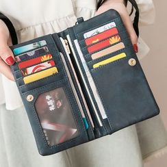 cococow - Faux Leather Long Wallet