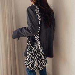 LIPHOP - Zebra / Leopard Shopper Bag