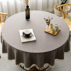 iMpressee - Plain Round Table Cloth