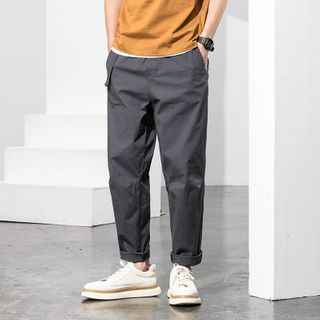 City of Air - Cropped Straight-Fit Pants